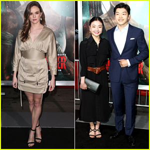 Danielle Panabaker Wore The Most Perfect Dress To The 'Tomb Raider' Premiere