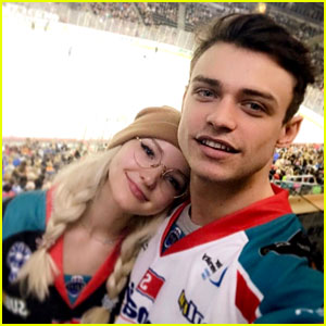 Dove Cameron & Thomas Doherty Adorably Keep Their Long-Distance Love Alive