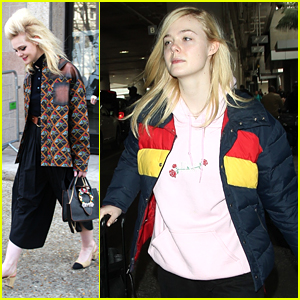 Elle Fanning Is Still Pinching Herself Over Paris Fashion Week