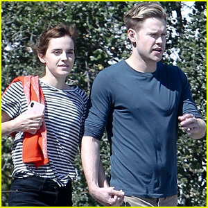 Emma Watson Amp Chord Overstreet Look So Happy In These