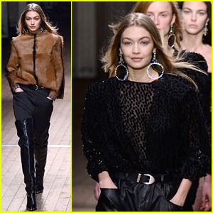 Gigi Hadid Slays Yet Another Runway for Isabal Marant