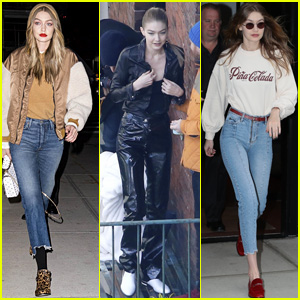 Gigi Hadid Stays Chic While Heading to a Photo Shoot in New York City