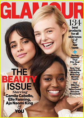 Camila Cabello Joins Elle Fanning & Aja Naomi King on Glamour's Cover!