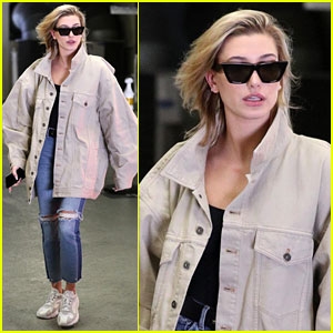 Hailey Baldwin Keeps It Comfy & Chic While Running Errands in LA
