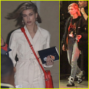 Hailey Baldwin Goes to Church & Steps Out for Dinner!