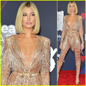 Host Hailey Baldwin Looks Stunning at iHeartRadio Music Awards 2018