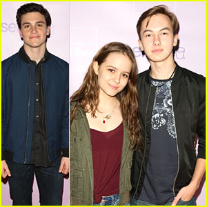 The Fosters' Hayden Byerly, Izabela Vidovic & Kalama Epstein Reunite at Museum of Selfies