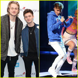 The Vamps Watch HRVY Perform at We Day UK 2018