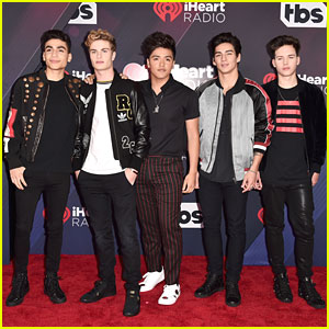In Real Life Walk The Red Carpet at iHeartRadio Music Awards 2018