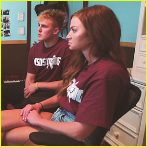 Jake Paul & Erika Costell Visit Parkland & Interview Students In New Videos