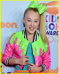 JoJo Siwa is Working on Her Outfit For the Kids' Choice Awards 2018!