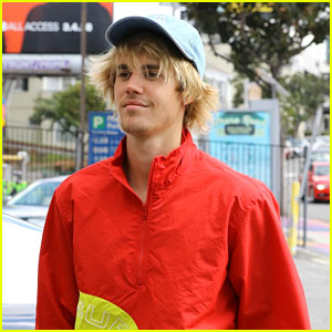 Justin Bieber Isn't Letting a Car Accident Damper His Mood!