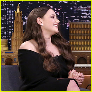 Katherine Langford Burst Into Tears Talking to Brie Larson - Watch Now!