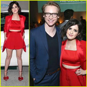 Laura Marano Reunites with Calum Worthy Again For Global Green Gala 2018