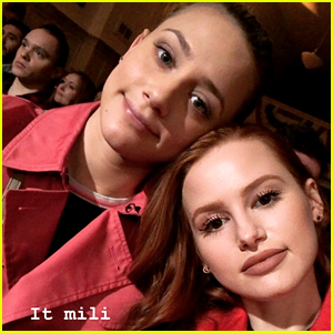 Riverdale's Lili Reinhart & Madelaine Petsch Cemented Their Friendship In Stone By Watching This Movie