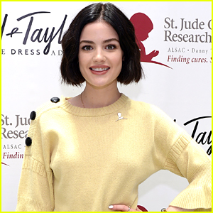 Lucy Hale is Ready To Ring in Spring With Lots of Yellow Fashion