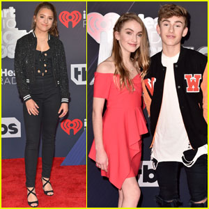 Mackenzie Ziegler & Johnny Orlando Hit the Red Carpet at iHeartRadio Music Awards 2018