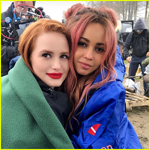 Madelaine Petsch on Kissing BFF Vanessa Morgan on 'Riverdale': 'It's Not  Weird At All'