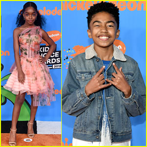 Marsai Martin Put On Guacamole Socks at KCAs 2018!