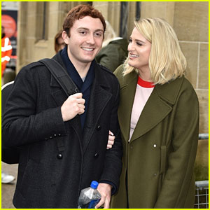 Meghan Trainor's Fiance Daryl Sabara Joins Her for UK Promo!