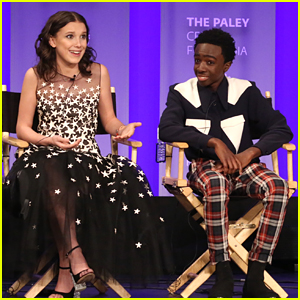 'Stranger Things' Stars Millie Bobby Brown & Caleb McLaughlin Dish On How Their Friendships Have Changed On Set