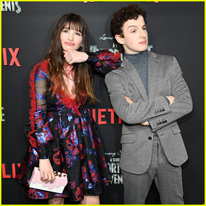Malina Weissman & Louis Hynes Strike a Pose at 'Series of Unfortunate Events' Season 2 Premiere