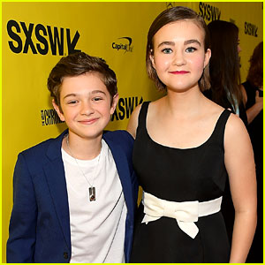 Noah Jupe & Millicent Simmonds Team Up for 'A Quiet Place' Premiere!