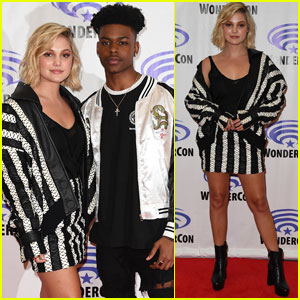 Olivia Holt & Aubrey Joseph Bring 'Marvel's Cloak & Dagger' to WonderCon!