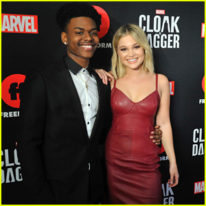 Olivia Holt Opens Up About 'Cloak & Dagger's Interracial Superhero Romance
