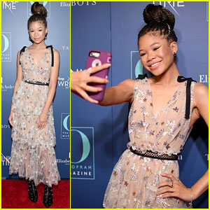 Storm Reid Snaps a Selfie at 'A Wrinkle in Time' NYC Screening!