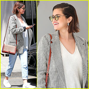 Selena Gomez is All Smiles While Kicking Off Her Weekend