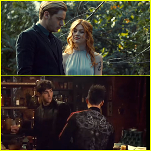 'Shadowhunters' Debuts Two New Clip Featuring Clace & Malec - Watch Now!