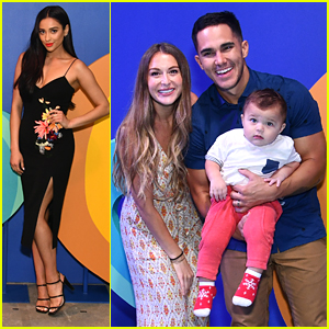 Shay Mitchell & Carlos PenaVega Get A Sneak Peek at What's Coming to Royal Caribbean Soon