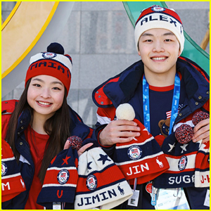 Maia & Alex Shibutani Made Team USA Hats For BTS - Here's What Happened To Them