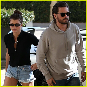 Sofia Richie Spends the Night at Home After Shopping with Her Boyfriend