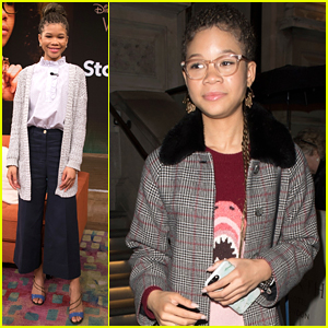 Storm Reid Was Zendaya's Ultimate Fangirl & Once Froze In Front of Her!