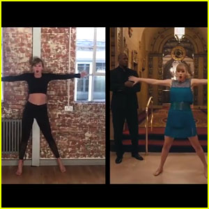 Taylor Swift Does the 'Delicate' Dance in One Take During Rehearsal - Watch Now!