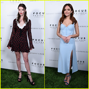 Anya Taylor-Joy & Olivia Cooke Hit the Red Carpet at 'Thoroughbreds' Hollywood Premiere!