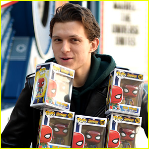Tom Holland Brings Tons of Toys to Children's Hospital in LA!