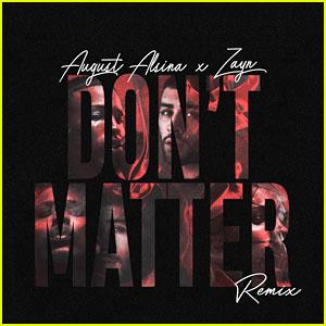 Zayn Malik Releases 'Don't Matter (Remix)' With August Alsina - Download & Lyrics!