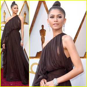 Zendaya Stuns in Off The Shoulder Gown at Oscars 2018