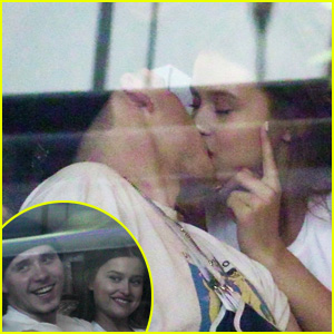 Brooklyn Beckham Kisses Model Lexi Wood After Seemingly Splitting From Chloe Moretz