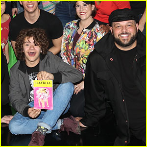 Gaten Matarazzo Joins 'Mean Girls' Cast at Broadway Show!