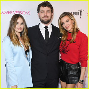 Debby Ryan, Austin Swift & Katie Cassidy Hit Up 'Cover Versions' Premiere in LA