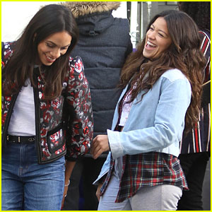 Gina Rodriguez Shares Cute Moment on Set with Her Co-Stars!