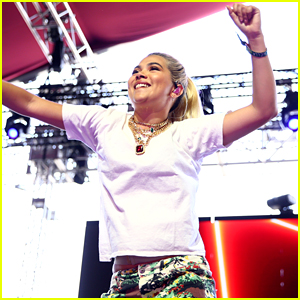 Hayley Kiyoko 'Blacked Out' During Her Coachella Debut