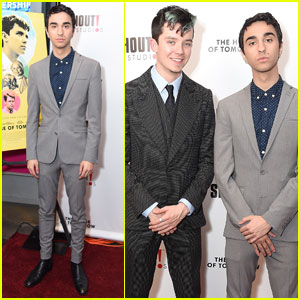 Alex Wolff Joins Asa Butterfield at 'The House Of Tomorrow' Premiere in NYC