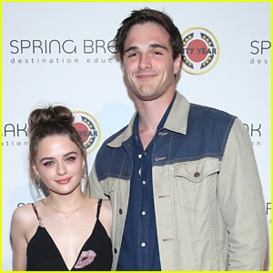 Joey King Brings Boyfriend Jacob Elordi to Spring Break