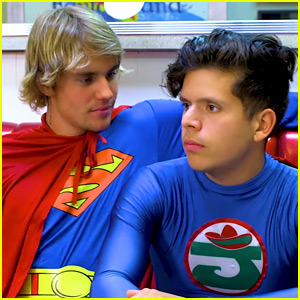 Justin Bieber Stars in Rudy Mancuso's New 'Racist Superman' Video