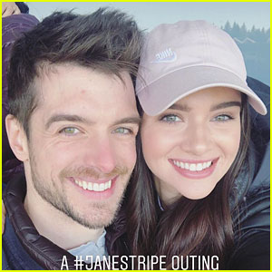Katie Stevens & Dan Jeannotte Share a Real-Life Janestripe Moment